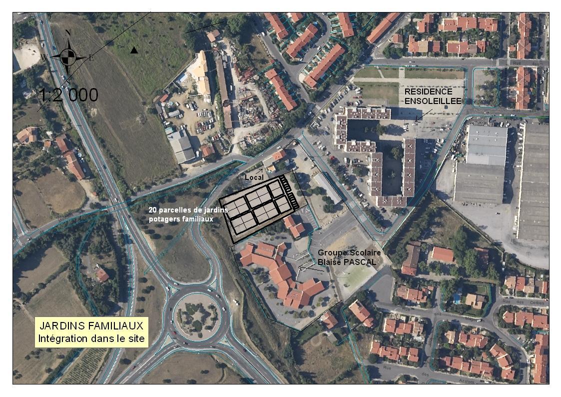 Pr sentation du projet de jardins potagers familiaux du quartier de mailloles perpignan - Jardin ville de quebec perpignan ...